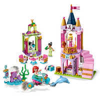 Image of Ariel, Aurora, and Tiana's Royal Celebration Playset by LEGO # 2