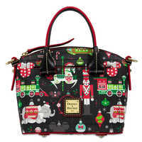 Image of Disney Parks Holiday Satchel by Dooney & Bourke # 1