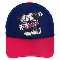 Image of Mickey and Minnie Mouse Sweethearts Baseball Cap - Adults # 1