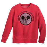 Image of Mickey Mouse Club ''Roll Call'' Pullover for Kids # 1