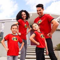 Image of Incredibles Logo Ringer T-Shirt for Women # 2