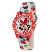 Image of Minnie Mouse Icon Time Teacher Watch - Kids # 1