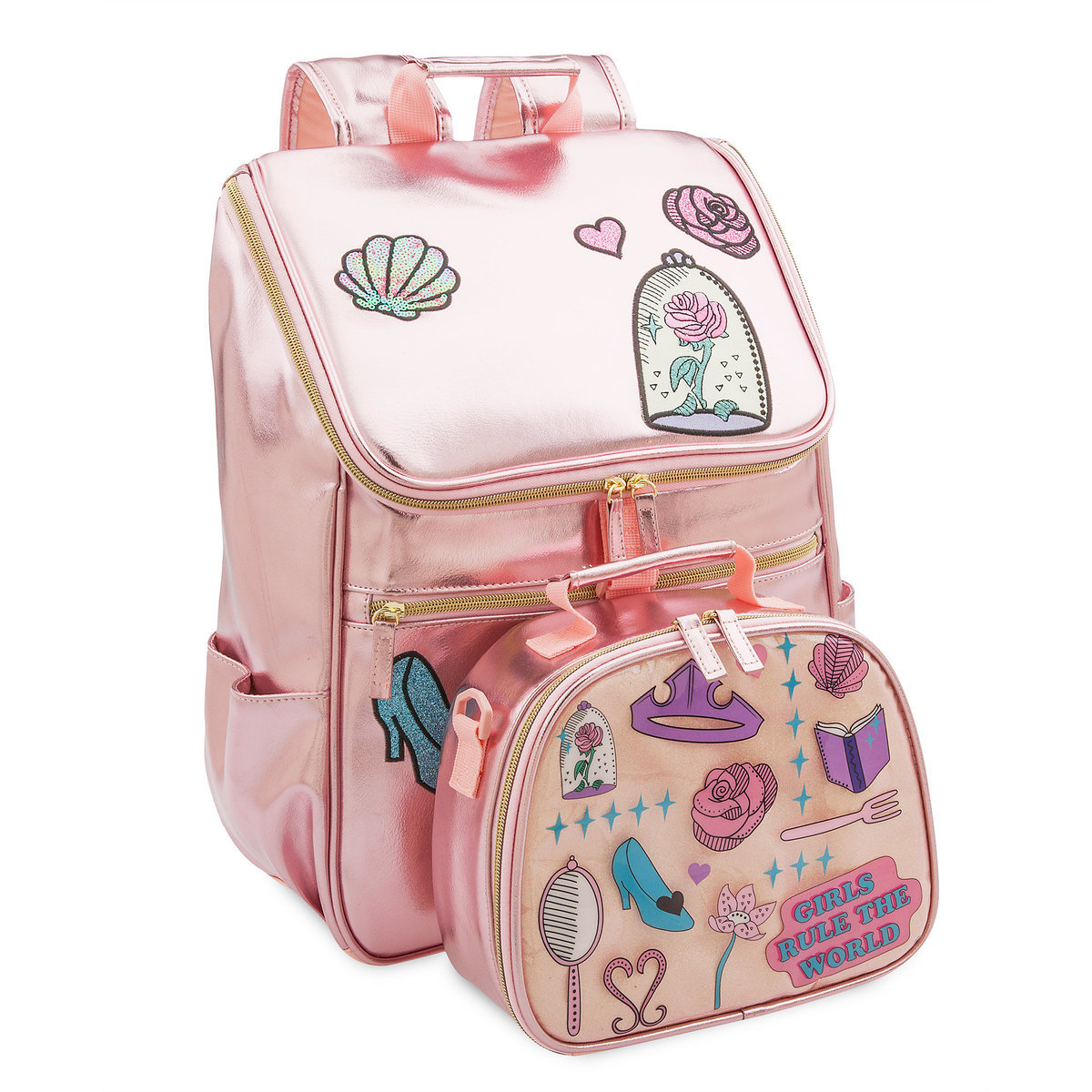 d54e63b000c Product Image of Disney Princess Icons Backpack for Kids   3