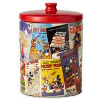 Image of Mickey Mouse Poster Art Collage Kitchen Canister # 2