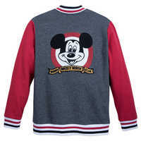 Image of Mickey Mouse Club Varsity Jacket for Men # 2