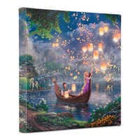 Image of ''Tangled'' Gallery Wrapped Canvas by Thomas Kinkade Studios # 2