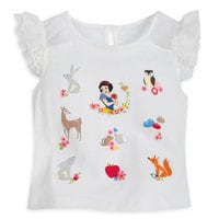 Image of Snow White Top and Skirt Set for Girls # 2