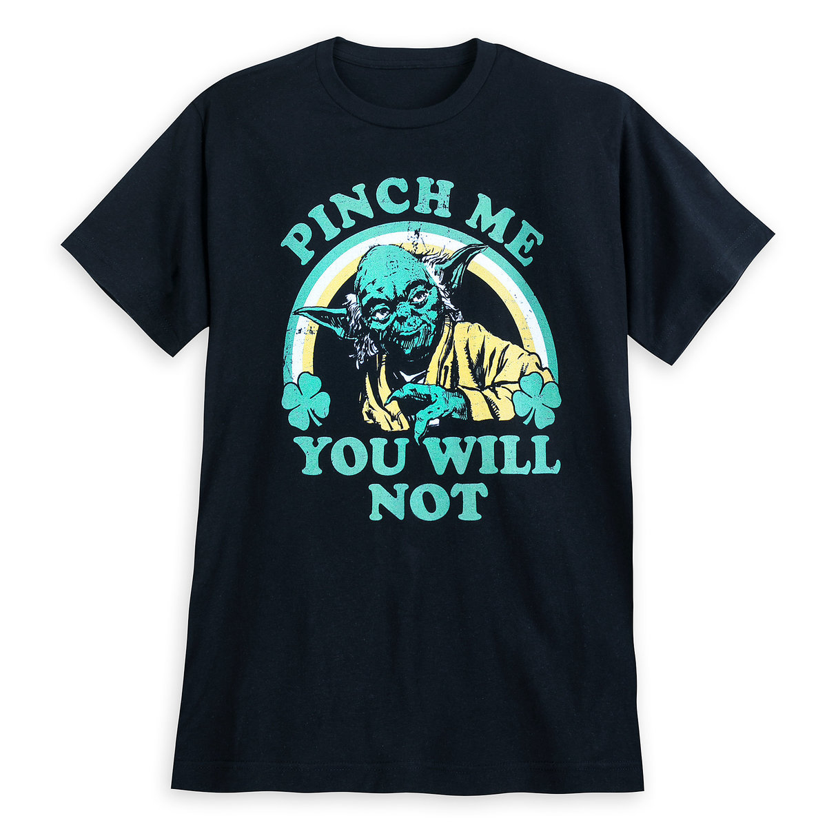 14247e242 Product Image of Yoda St. Patrick's Day T-Shirt for Men # 1
