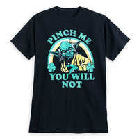 Image of Yoda St. Patrick's Day T-Shirt for Men # 1