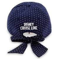 Sailor Minnie Mouse Bow Baseball Hat - Disney Cruise Line - Adults