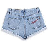 Image of Mickey Mouse Denim Shorts by SIWY # 6