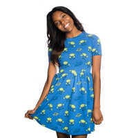 Image of Pizza Planet Dress for Women by Cakeworthy - Toy Story 4 # 3
