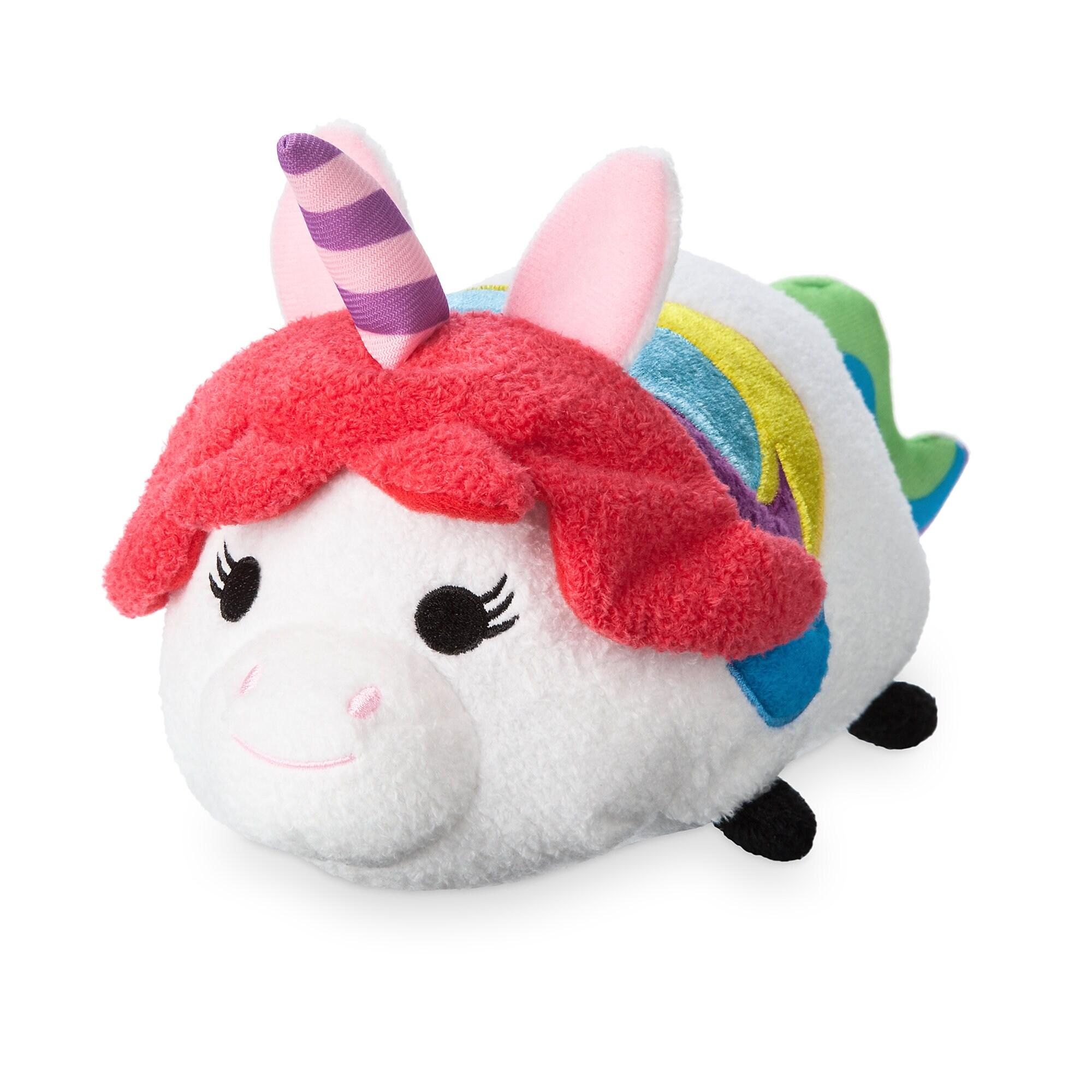 Rainbow Unicorn ''Tsum Tsum'' Plush - Inside Out - Medium
