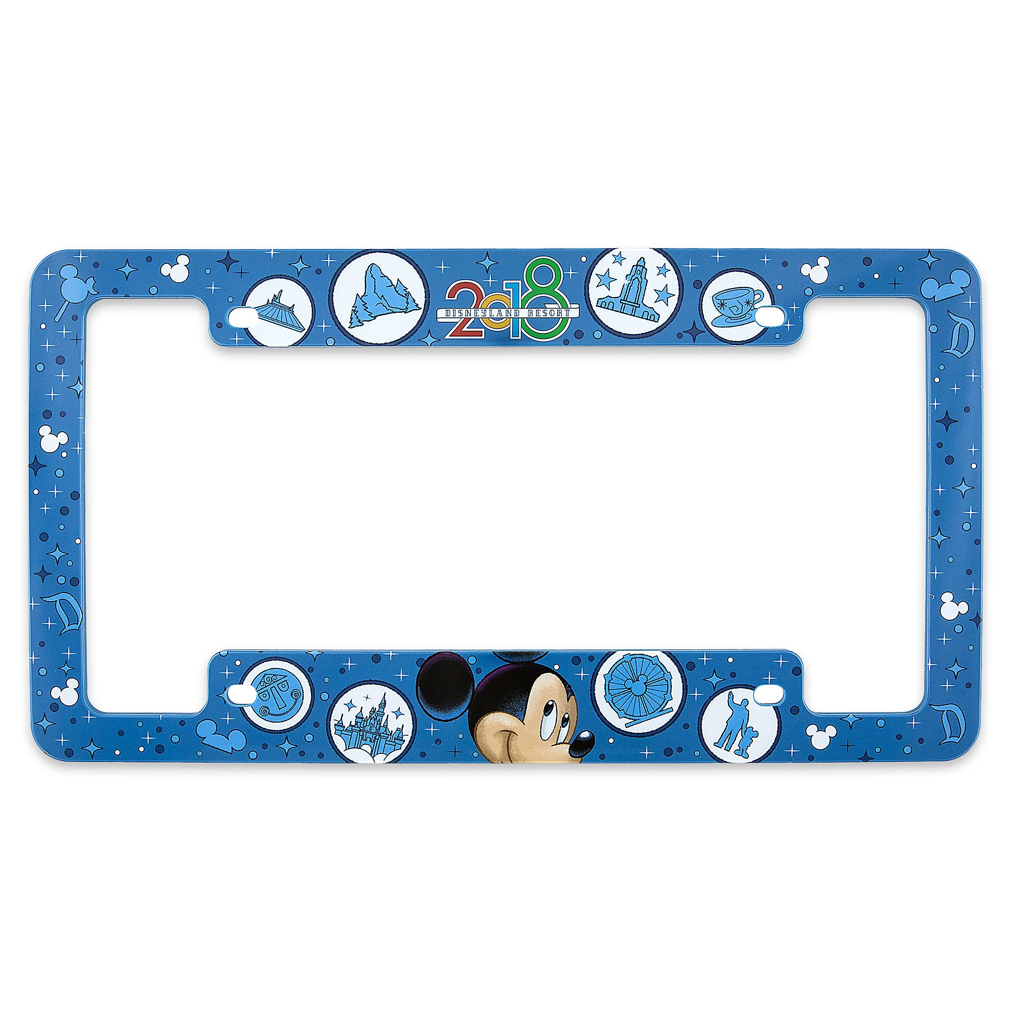 Mickey Mouse License Plate Frame - Disneyland 2018 | shopDisney