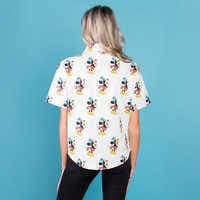 Image of Minnie Mouse Button Up Shirt for Women by Cakeworthy # 4