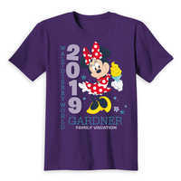 Image of Minnie Mouse Family Vacation T-Shirt for Kids - Walt Disney World 2019 - Customized # 1