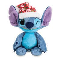 Image of Stitch Poseable Plush and ''Holiday Mischief with Stitch'' Book Set # 3