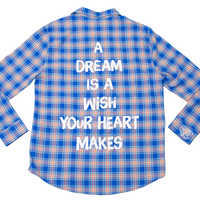 Image of Cinderella Flannel for Adults by Cakeworthy # 1