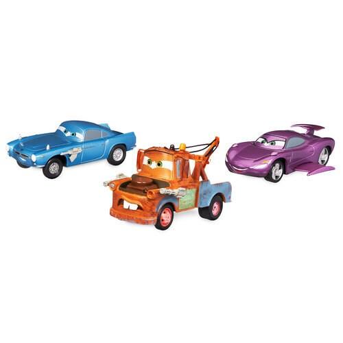 Cars Secret Agents Pull 'n' Race Die Cast Set