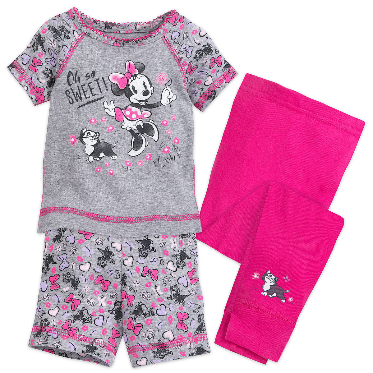 Product Image of Sweet Minnie Mouse Pajama Set for Baby   1 bfb69ac82