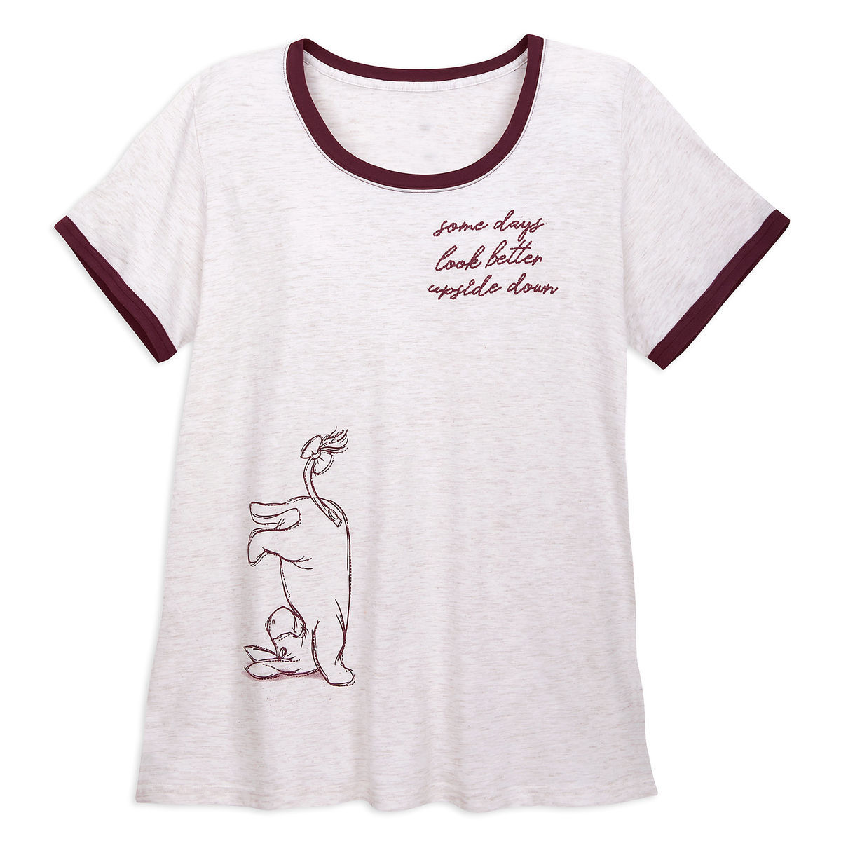 efbfb6fa05e Product Image of Eeyore Ringer T-Shirt for Women - Winnie the Pooh -  Extended