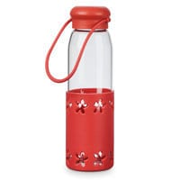 Image of Minnie Mouse Glass Water Bottle # 2
