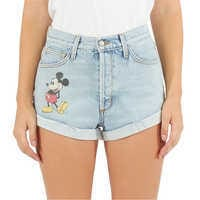 Image of Mickey Mouse Denim Shorts by SIWY # 1