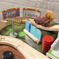 Image of Cars 3 Thunder Hollow Track Set and Table by KidKraft # 5