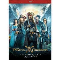 Image of Pirates of the Caribbean: Dead Men Tell No Tales DVD # 1