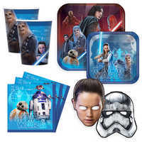 Image of Star Wars The Last Jedi Disney Party Collection # 1