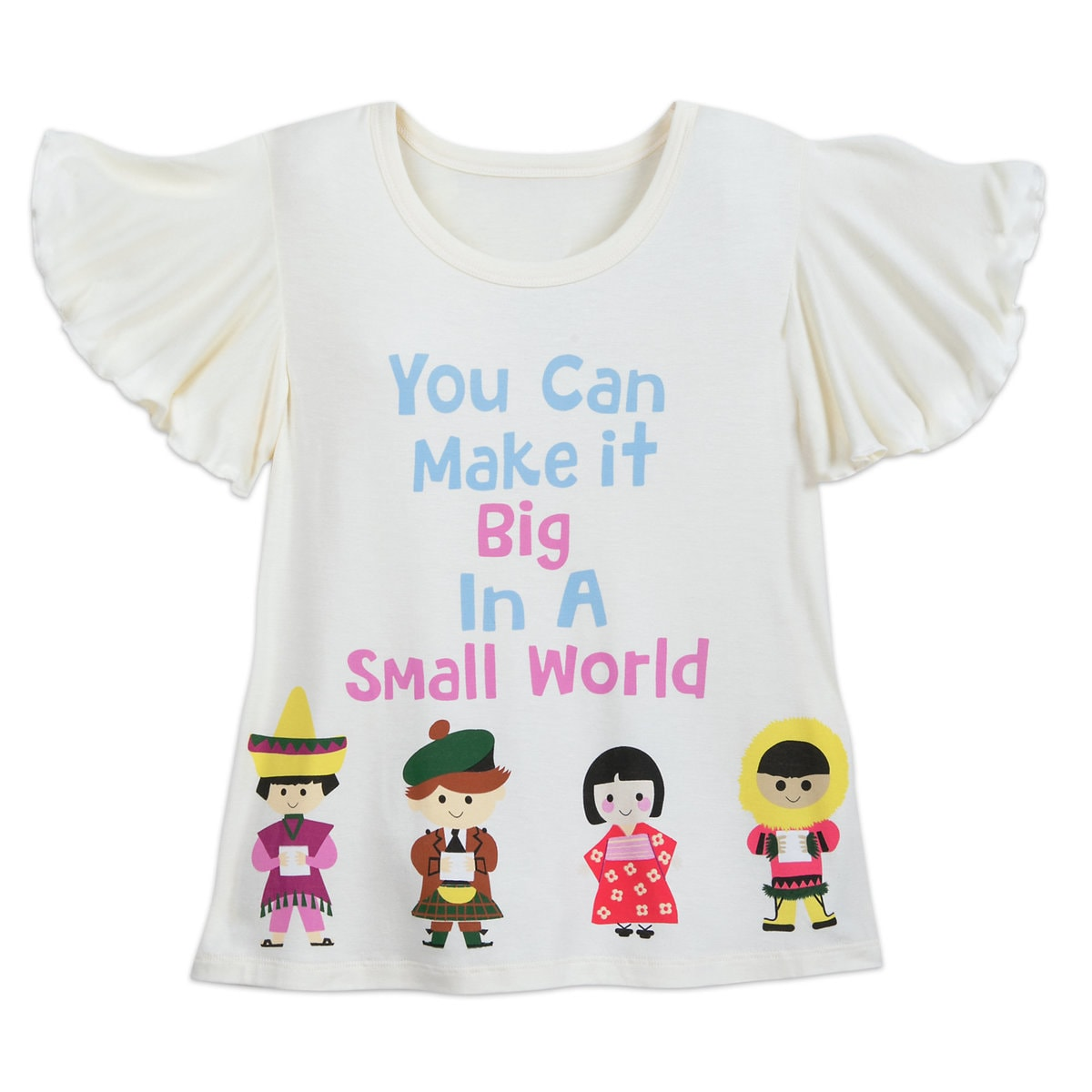 c65de409 Product Image of Disney it's small world T-Shirt for Kids # 1