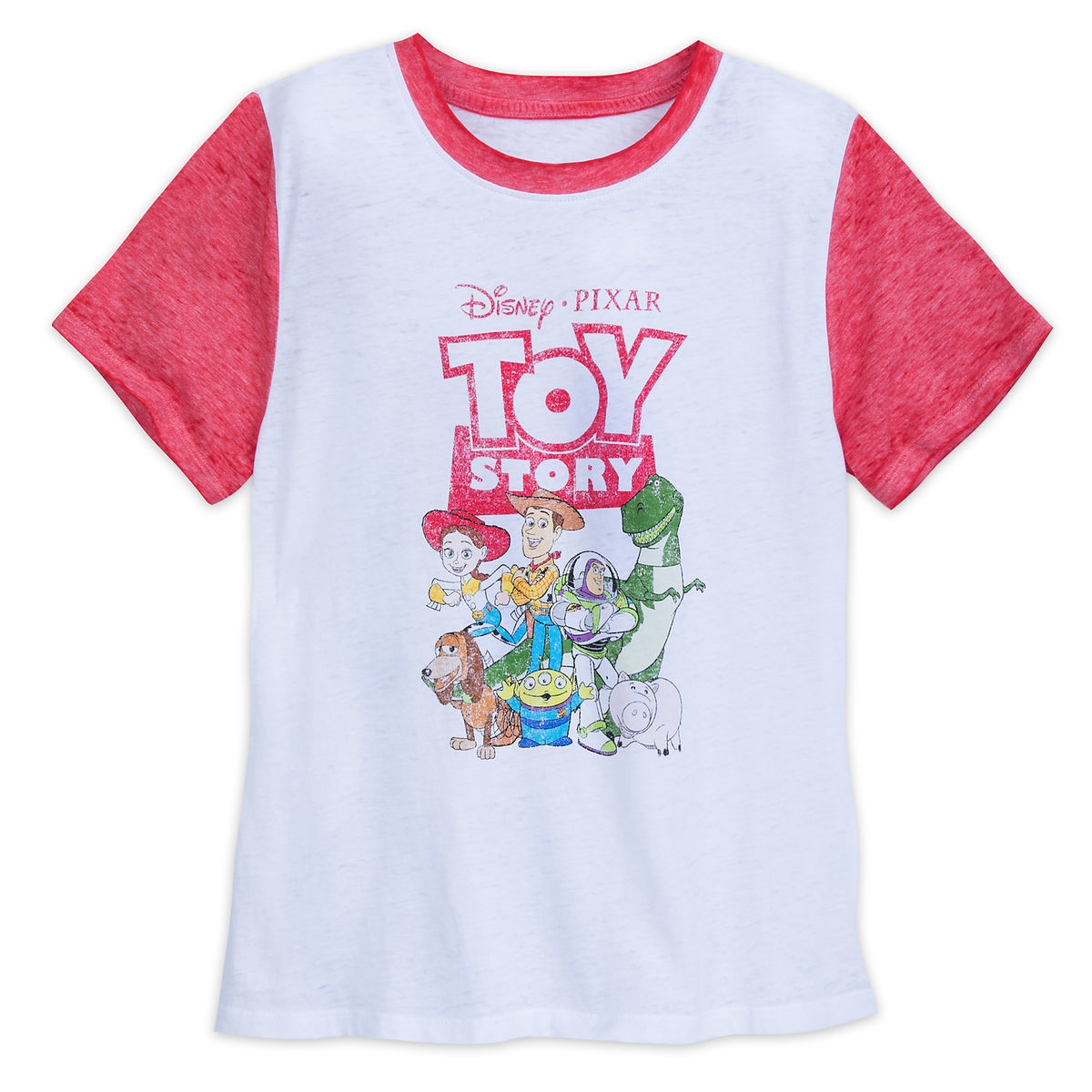 Toy Story Distressed T Shirt For Adults Shopdisney