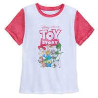 Image of Toy Story Distressed T-Shirt for Adults # 1