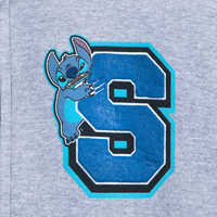 Image of Stitch Varsity Zip Hoodie for Adults # 3
