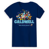 Image of Mickey Mouse and Friends Family Vacation T-Shirt for Women - Walt Disney World 2019 - Customized # 2