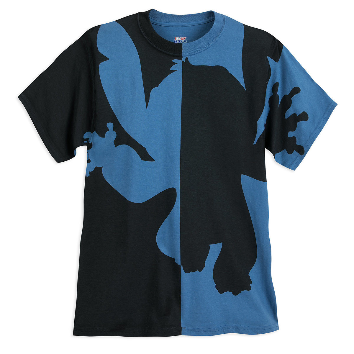 Stitch Silhouette T-Shirt for Adults   shopDisney
