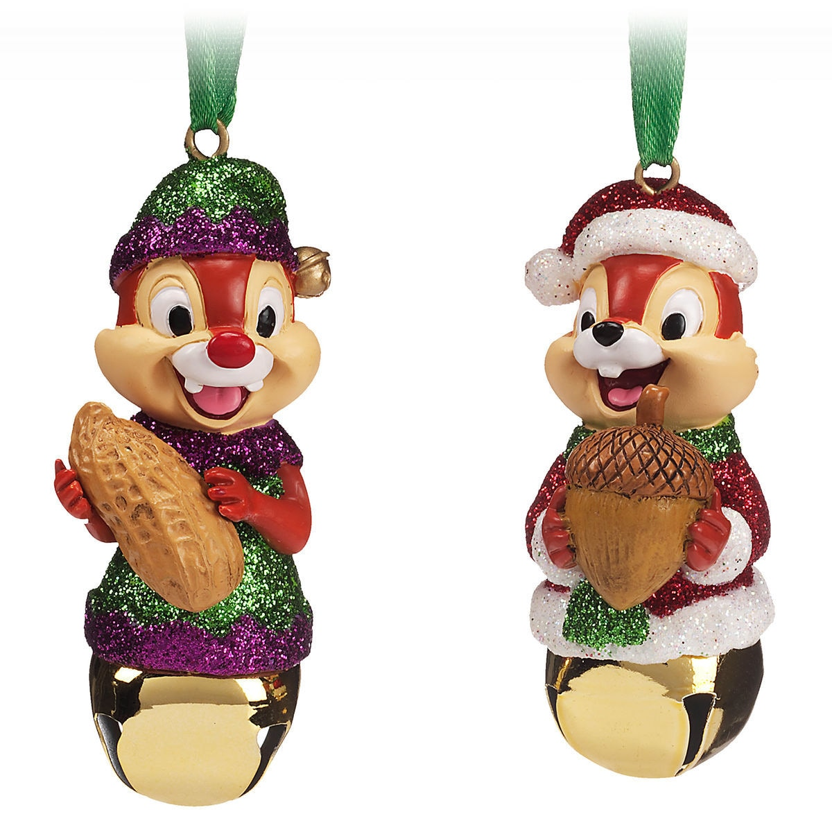 Chip \'n Dale Bell Ornament Set | shopDisney