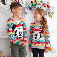 Image of Mickey Mouse Family Holiday Sweater for Boys # 4