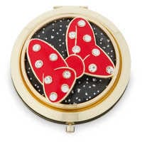 Image of Minnie Mouse Signature Glass Compact Mirror # 1