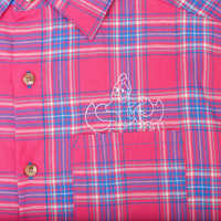 Image of Sebastian Flannel Shirt for Adults by Cakeworthy - The Little Mermaid # 4