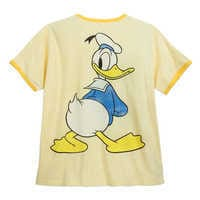 Image of Donald Duck Ringer T-Shirt for Men - Extended Size # 2