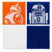 Image of R2-D2 and BB-8 Washcloths Set - Star Wars # 1