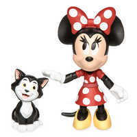 Image of Minnie Mouse and Figaro Action Figure Set - Disney Toybox # 1