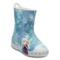 Image of Anna and Elsa Crocs™ Rain Boots for Girls # 1