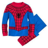 Image of Spider-Man Costume PJ PALS for Boys # 1