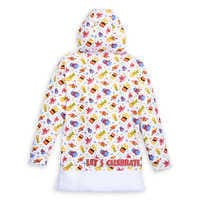 Image of Mickey Mouse and Friends Celebration Pullover Hoodie for Girls - Walt Disney World # 2