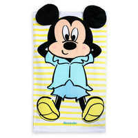 Image of Mickey Mouse Beach Towel for Baby - Personalized # 1