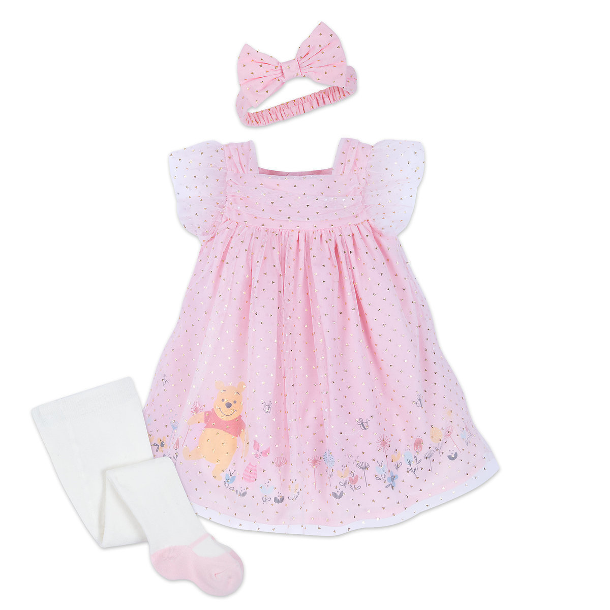 6a5038f35a98 Product Image of Winnie the Pooh Dress Set for Baby   1