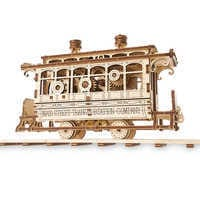Image of Main Street U.S.A. Trolley Wooden Puzzle # 1