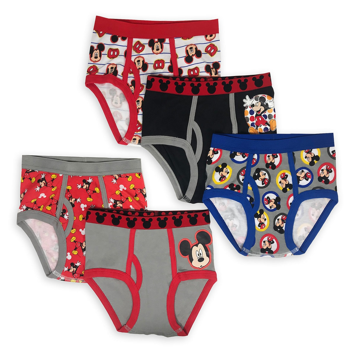 96ff0d8f03dbf Product Image of Mickey Mouse Underwear Set for Boys - 5-Pk # 1